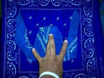 Blindsgalore Designer Drapery: Rod Pocket shown in Mulberry