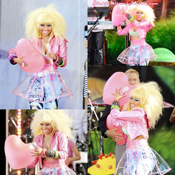 NICKI MINAJ - Good Morning America Concert (UHQ)
