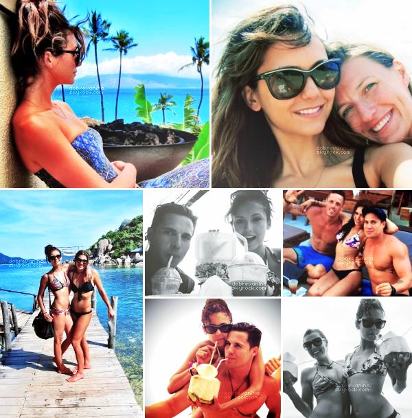 Prohlédněte si fotografie Nina během svého pobytu v Mexiku, Havaji a Thajska.