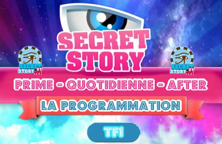 La programmation de Secret story 6