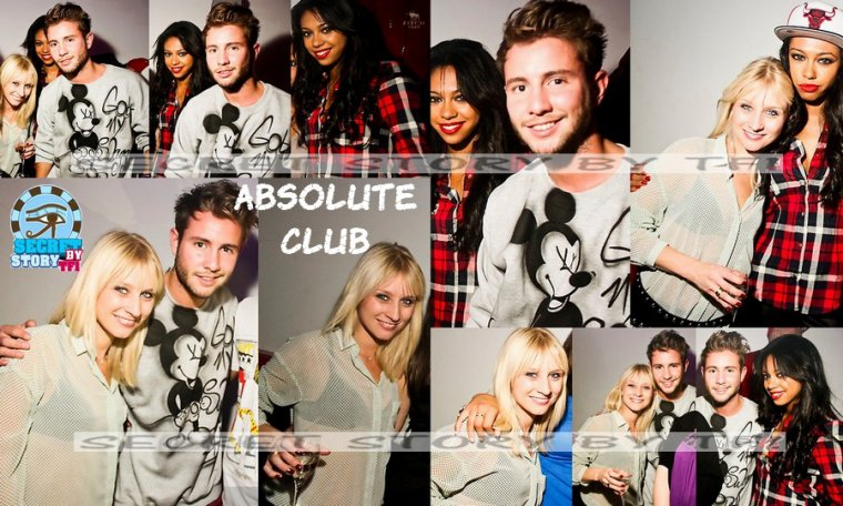 Ginie, Alex et Virginie � l'Absolute Club (2)
